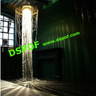 Give light add beauty to your home by PMMA Plastic fiber optic chandelier