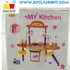 plastic toy kitchen play set