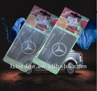 BENZ shape paper car air freshner