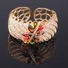 Fashion crystal stone bangle bracelet