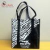 zebras shopping bag