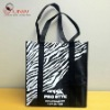 zebras shopping bag