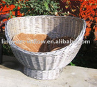 willow pet basket,wicker pet basket