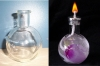 glass oil lamp,glassware