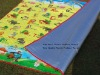2012 newly colorful plastic mat for baby playing