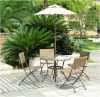 6pcs rattan garden patio furniture set