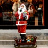 Fiberglass mannequin- Father Christmas / Santa Claus --SD