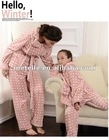 Hello Winter Pink lovely dot family wear