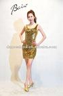 10AX1011 Fashion Paillette Modern Dancing Costume