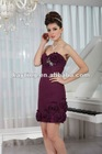 new arrival cocktail party dresses short formal dresses pleated dress on sale 09188