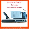 A4 Portable Scanner with built-in 128M