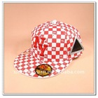 fashion custom snapback hat flat brim cap