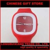 Jelly Digital ODM Style Silicone Sports Unisex red Watch040