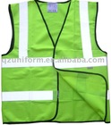 Green High Visibility Reflective Safety Vest SL0523