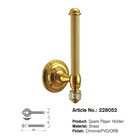 Brass Bathroom Accessories Spare Paper Holder 228052