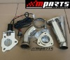 high performance electric exhaust cutout kit