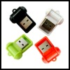 Square shape usb micro sd card reader driver