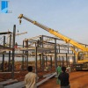 prefabricated steel structure residential building (Angola hotel)