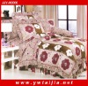 2011New desigh 4PCS 100%cotton queen size bedding sets