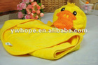 cotton poncho towel for kids