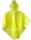 poncho raincoat polyester pvc raincoat