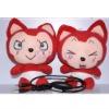 USB Couple Plush Doll Speaker for gifts
