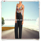 New Women Sexy Casual Party Clubwear Red Spaghetti Strap Romper Jumpsuits