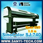 DX5 Head Grand Format Digital Printer, SinoColor Signjet DX5 SJ740 ( printer with Epson DX5 Head, 1.8 m &3.2 m, 1440 dpi)