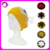 lady knit beret hat pattern RQ-01