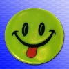 reflective smile sticker CE EN13356