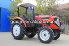 China YTO engine farm tractor, 50/55/60HP 4WD farm tractor with ROPS, sunshade