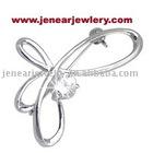 High Quality 925 Silver Brooch