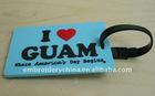 Custom-made rubber Label, PVC Label