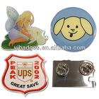 metal badge promotion printing badge lapel pin