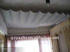 Polyester Electric ceiling Curtain