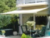 LFZY004 full cassette retractable awning with motor remote control