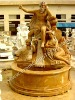 henan yellow marble fountains