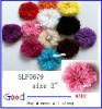 net fabric flower and lace flower of hair flower 12 colors