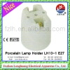 LH10-1 E27 4A 250V White New Durable Glazed Ceramic/Porcelain Lampholder