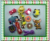 hot sale fashion promotional silicone key chain key chain/key ring