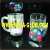 light up beer mug,flashing beer mug