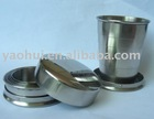 stainless steel foldable cup, telecope cup,