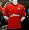 12-13 season original grade Red Tijuana football shirt