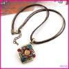 fashion alloy pendant necklace
