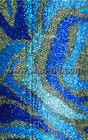 jacquard glitter fabric with glue