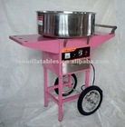 Pink Electric Candy Floss Machine with cart-MF05