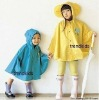 taffeta coated PVC raincoat for kids