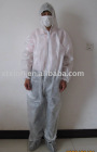 Nonwoven coverall , Disposable coverall