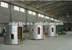 0.5-3Ton aluminum shell induction furnace