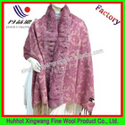 Fashion rabbit fur shawls